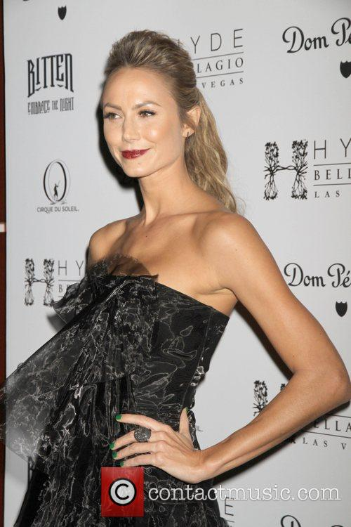 Stacy Keibler Stacy Keibler hosts Sexy Masquerade Party...