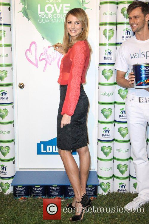 Stacy Keibler Partners with Valspar Paint to Announce...