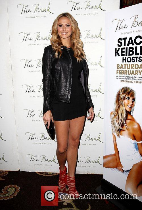 Stacy Keibler and The Bank Nightclub 10