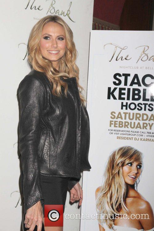 Stacy Keibler and The Bank nightclub 22