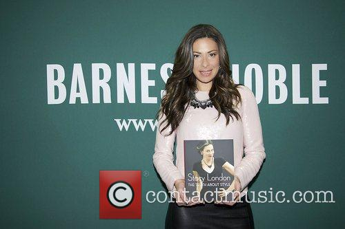 Fashion consultant Stacy London promoting her book 'The...