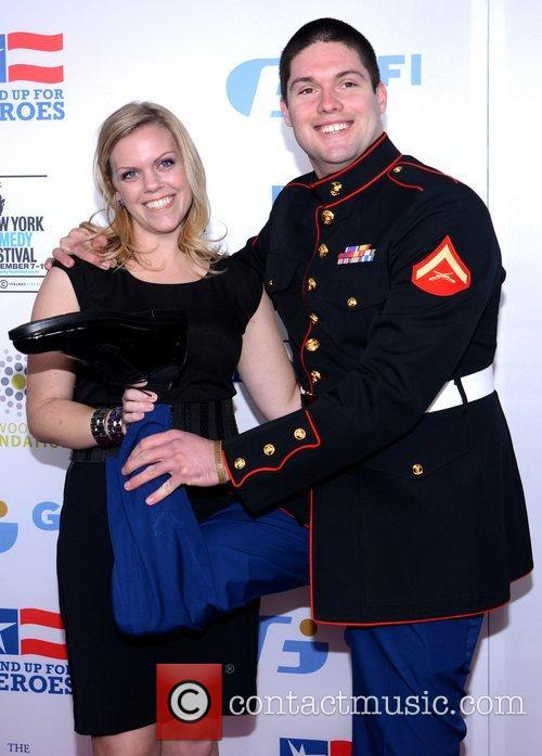 Megan Waters, Lance Cpl. Michael Martinez and Beacon Theatre 3