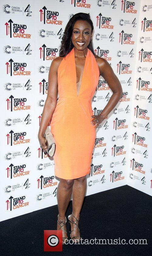 Beverley Knight Stand Up To Cancer fundraising gala,...