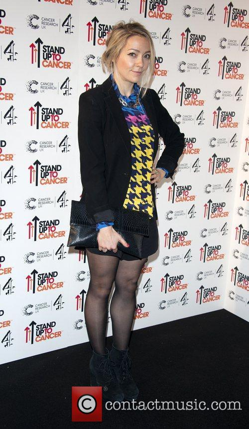 Cherry Healey Stand Up To Cancer fundraising gala,...