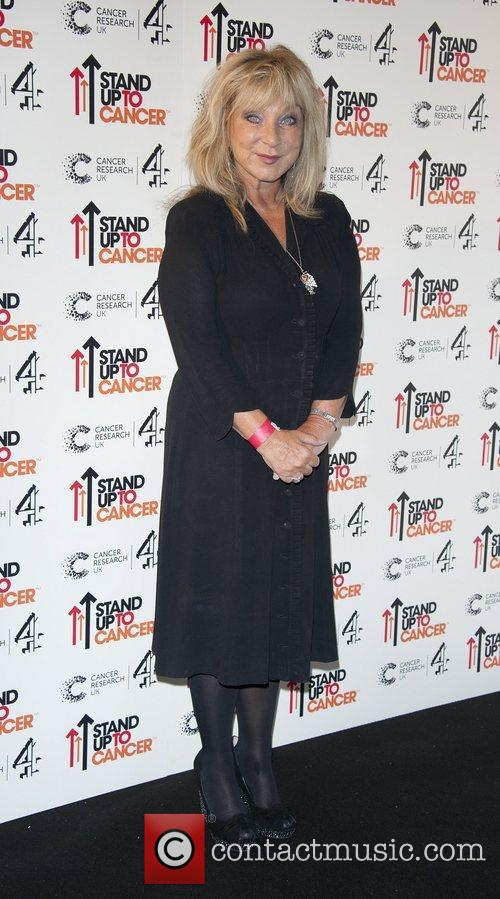 Helen Lederer Stand Up To Cancer fundraising gala,...