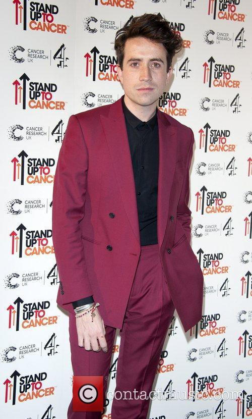 Nick Grimshaw Stand Up To Cancer fundraising gala,...