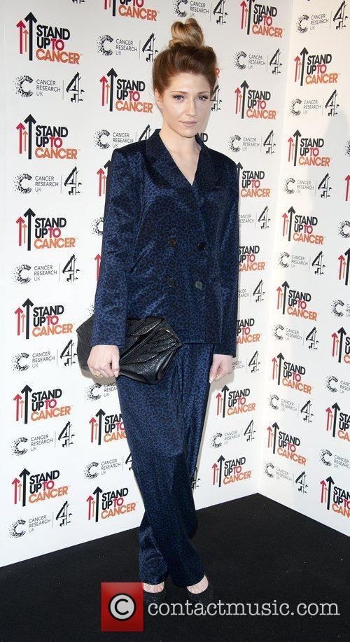 Nicola Roberts Stand Up To Cancer fundraising gala,...