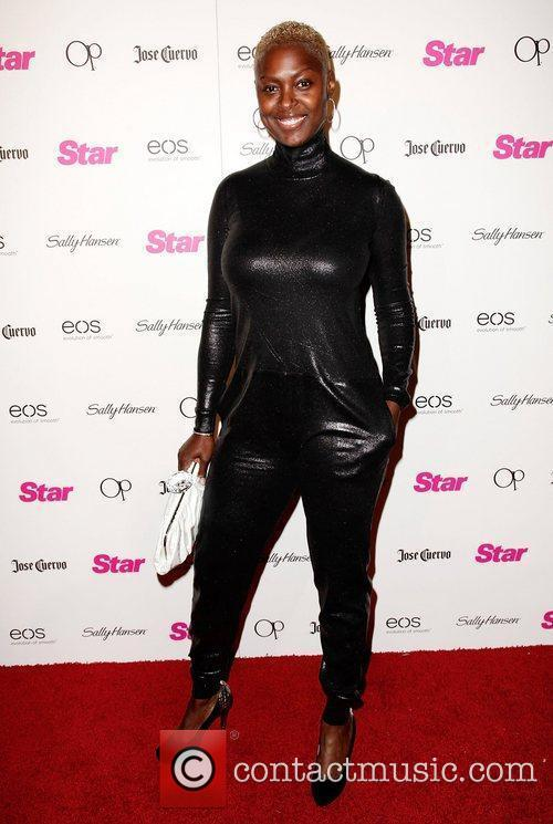Rochelle Mosley Star Magazine's 'All Hollywood' event at...