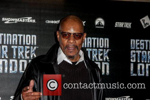 Avery Brooks  Celebrities pose for photographers, without...
