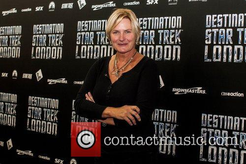 Denise Crosby  Celebrities pose for photographers, without...