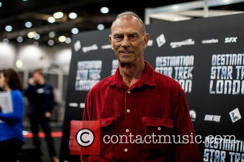 Marc Alaimo Celebrities pose for photographers, without British...