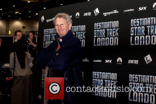 Rene Auberjonois  Celebrities pose for photographers, without...