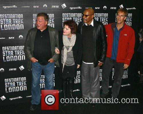 William Shatner, Kate Mulgrew, Avery Brooks, Scott Bakula, British, Patrick Stewart and Destination Star Trek London 3