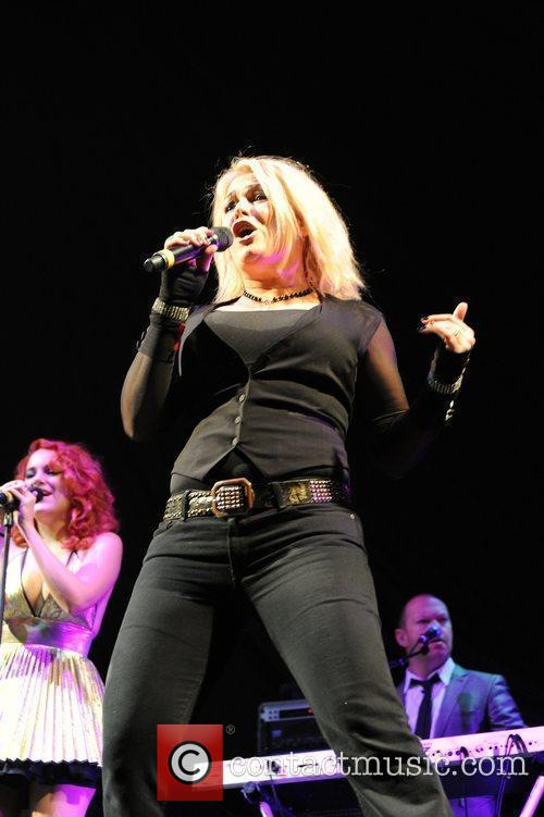 Kim Wilde performing live at the LG Arena...