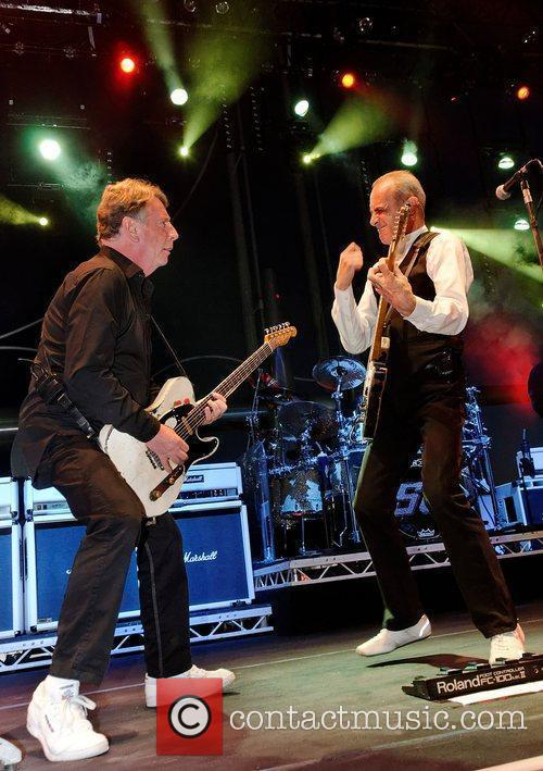Rick Parfitt and Francis Rossi,  of Status...