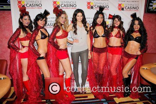 Hope Dworacaczk,  at the Seminole Casino Coconut...
