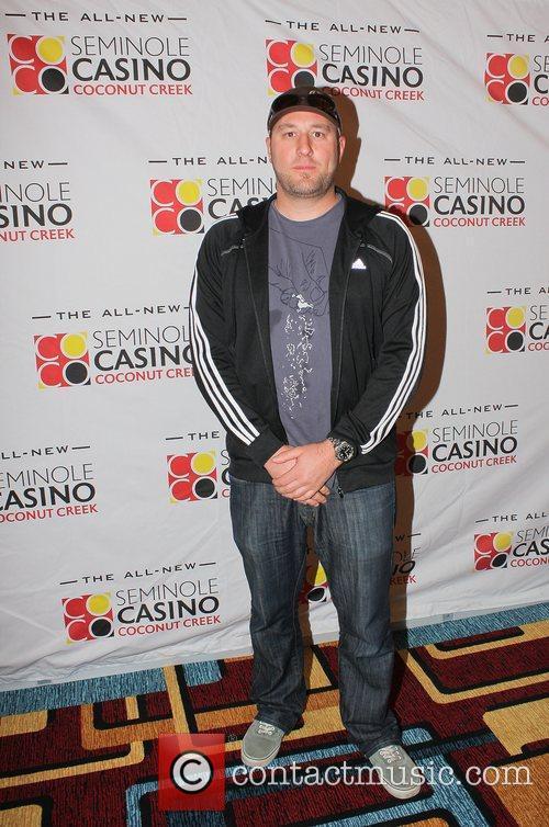 Hosea Rosenberg,  at the Seminole Casino Coconut...