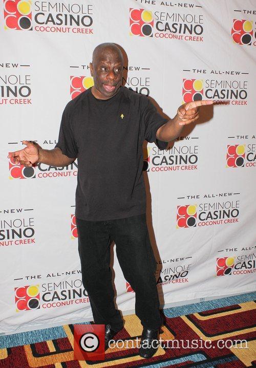 Jimmy (J.J.) Walker,  at the Seminole Casino...