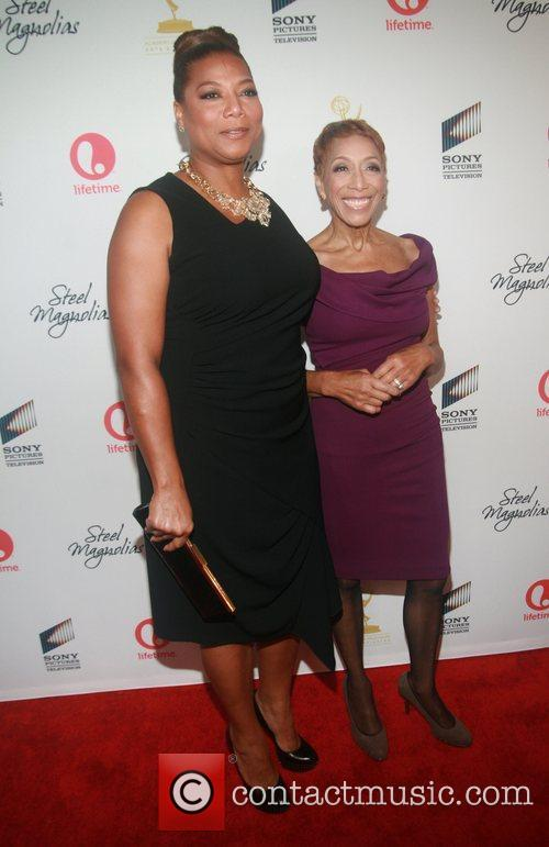 Queen Latifah, Dana Elaine Owens and Rita Owens 2