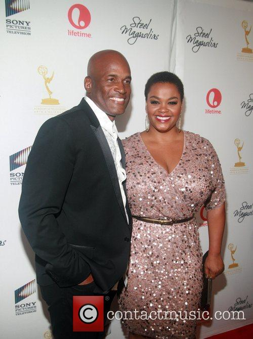 Kenny Leon and Jill Scott attends the world...