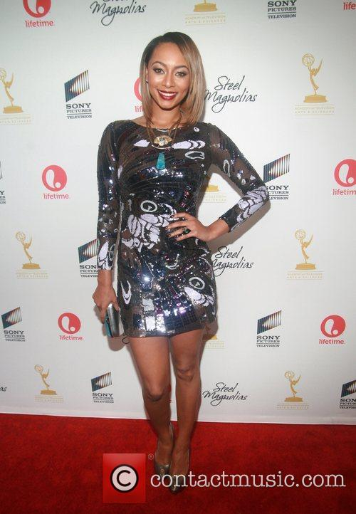 Keri Hilson  attends the world premiere of...