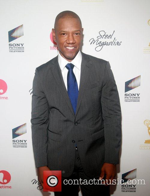 Tory Kittles attends the world premiere of the...