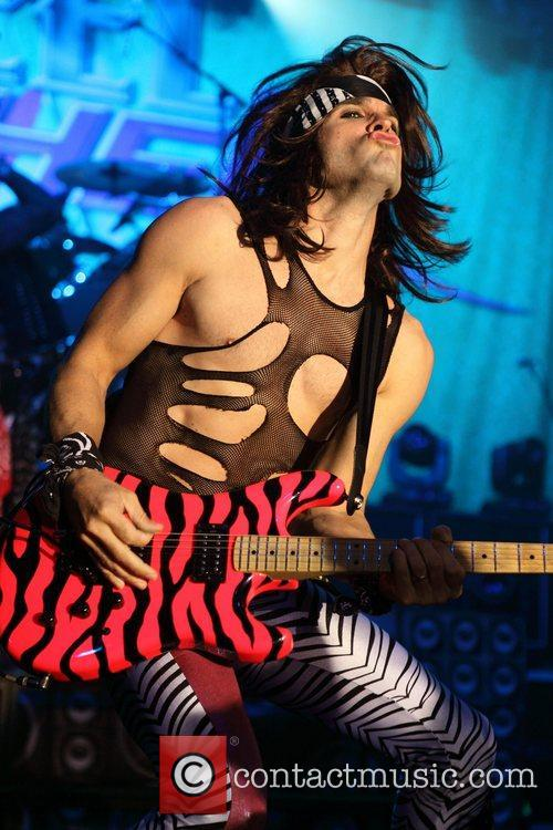 Steel Panther performing at Thebarton Theatre in Adelaide