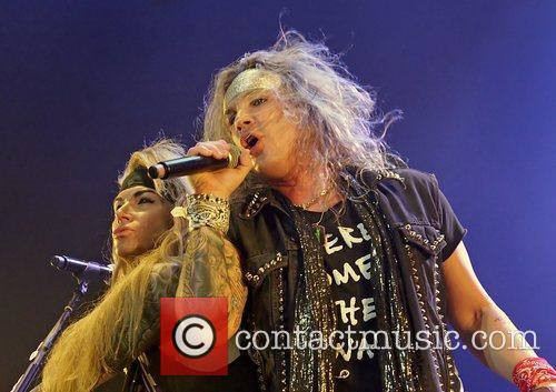 steel panther performing at manchester o2 apollo 4169490