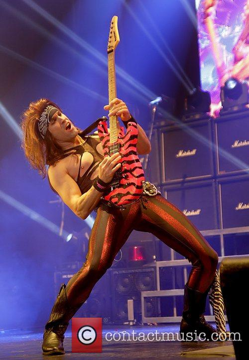 steel panther performing at manchester o2 apollo 4169512