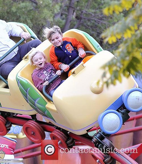 Gwen Stefani, Kingston, Zuma, Gavin and Disneyland 2