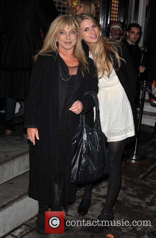 Helen Leatherer and guest Stella McCartney store Christmas...