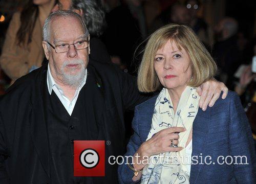Peter and Chrissy Blake Stella McCartney store Christmas...