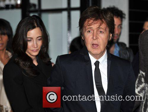 Sir Paul Mccartney and Nancy Shevell 10