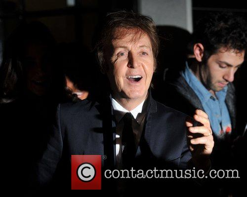 Sir Paul Mccartney and Nancy Shevell 4