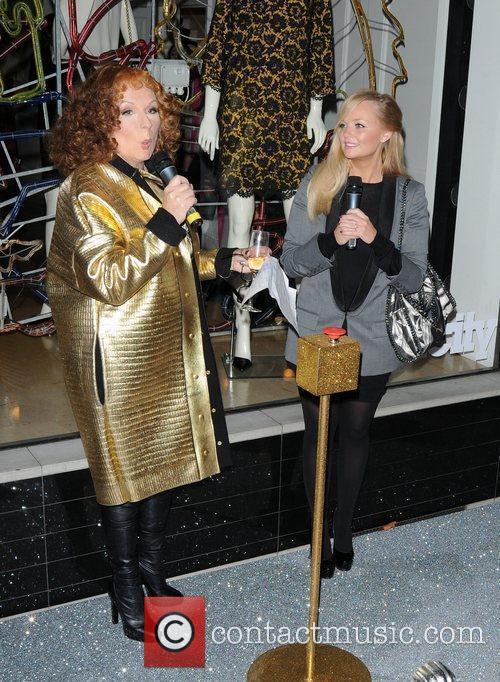 Jennifer Saunders and Emma Bunton 3