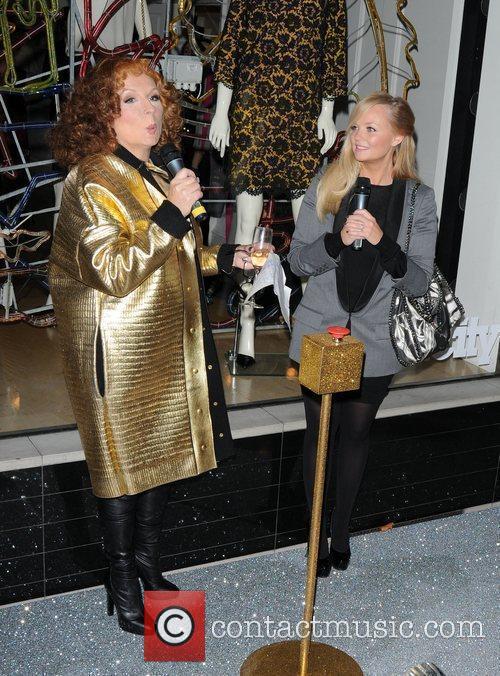 Jennifer Saunders and Emma Bunton 8