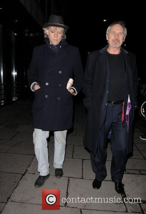 Bob Geldof and Sir Paul Mccartney 7