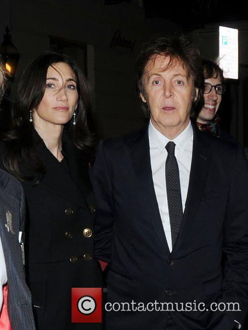 Sir Paul McCartney  Stella McCartney store Christmas...