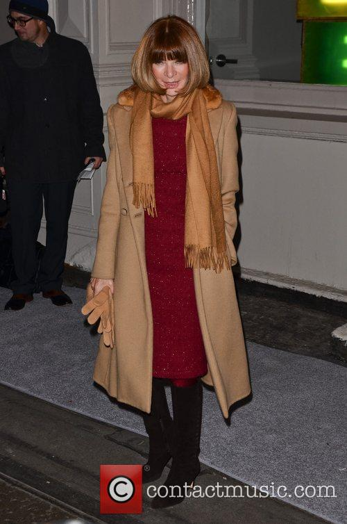 Anna Wintour  Celebrities attend a private dinner...