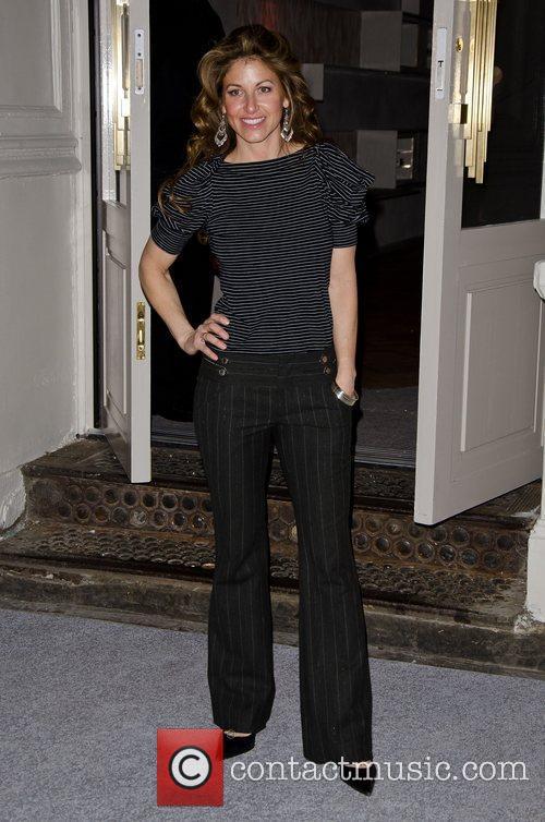 Dylan Lauren  Celebrities attend a private dinner...