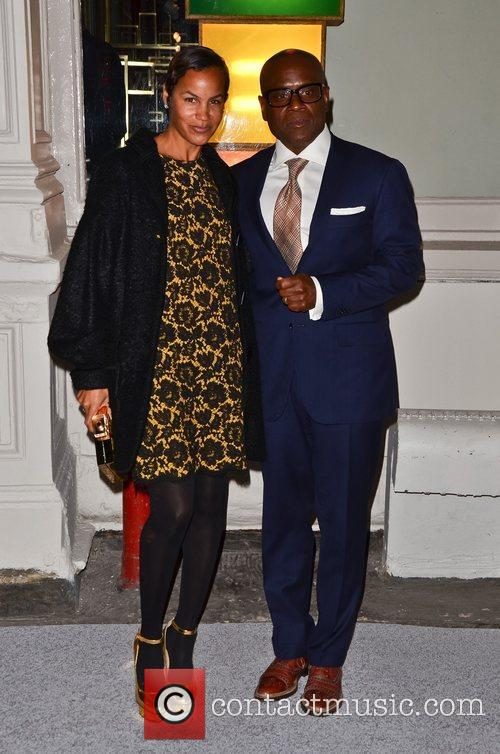 L.A. Reed  Celebrities attend a private dinner...
