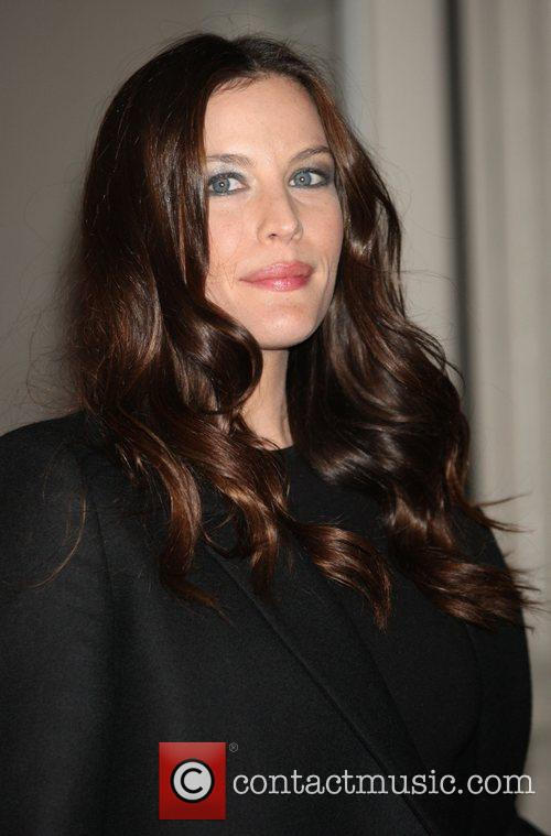 Liv Tyler attend a private dinner to celebrate...
