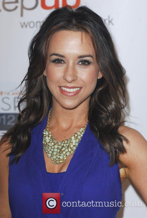 Lacey Chabert and Beverly Hilton Hotel 2