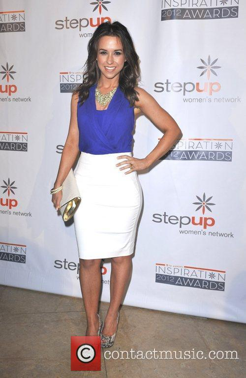 Lacey Chabert and Beverly Hilton Hotel 1