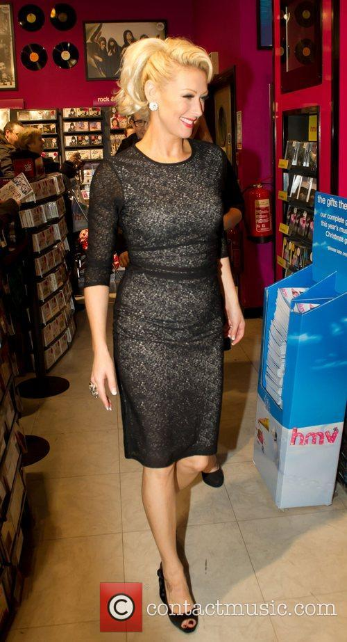 Faye Tozer Steps sign copies of their new...
