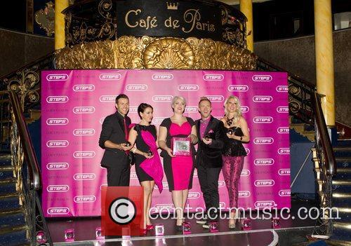 Lee Latchford-evans, Lisa Scott-lee, Claire Richards, Ian, H' Watkins, Faye Tozer and Cafe De Paris 4