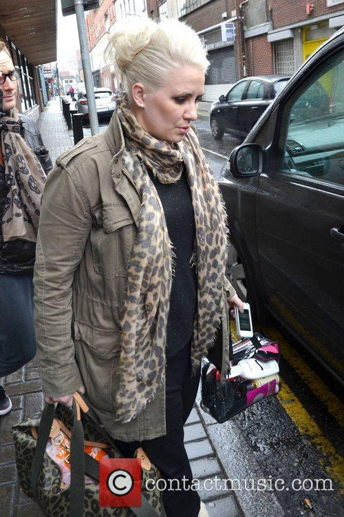 Claire Richards Members of reformed pop group Steps...
