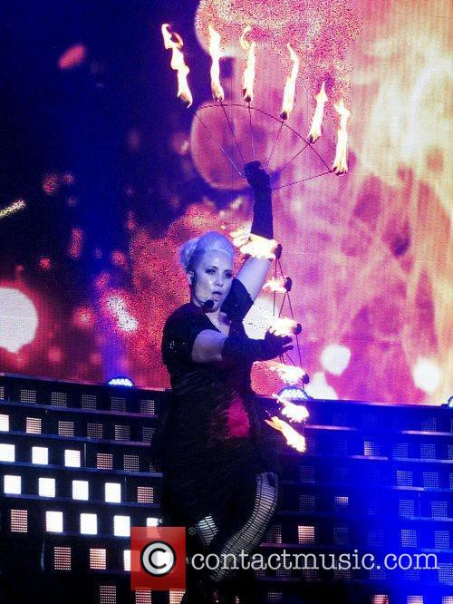 Claire Richards of Steps - The Ultimate Tour...
