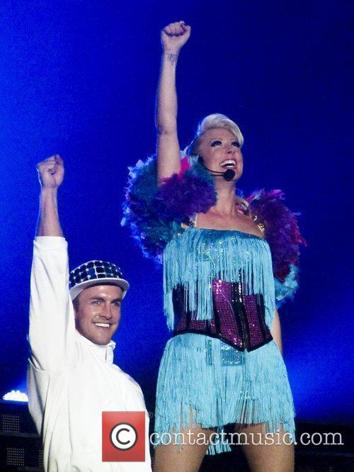 Faye Tozer of Steps - The Ultimate Tour...