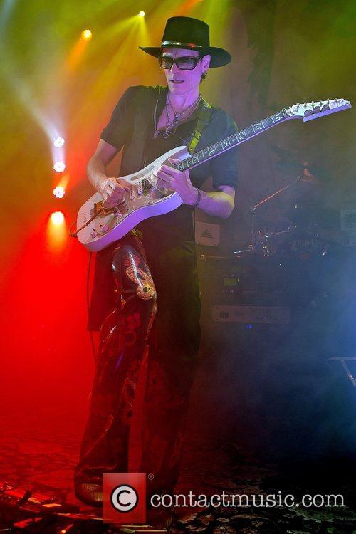 American guitarist, Steve Vai performing at Tradgarn. Gothenburg,Sweden